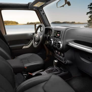 2018 Jeep Wrangler JK front interior