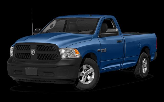 2018 Ram 1500 blue exterior model