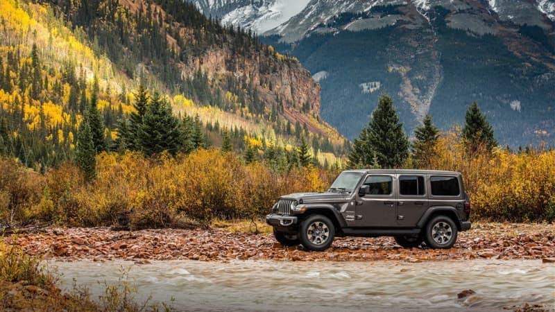 2018 Jeep Wrangler exterior