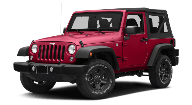 2018 Jeep Wrangler JK white background