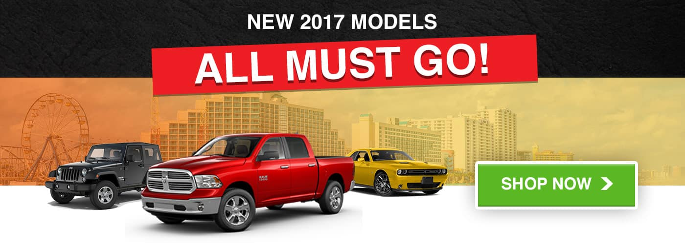 All 2017 Models Must Go!