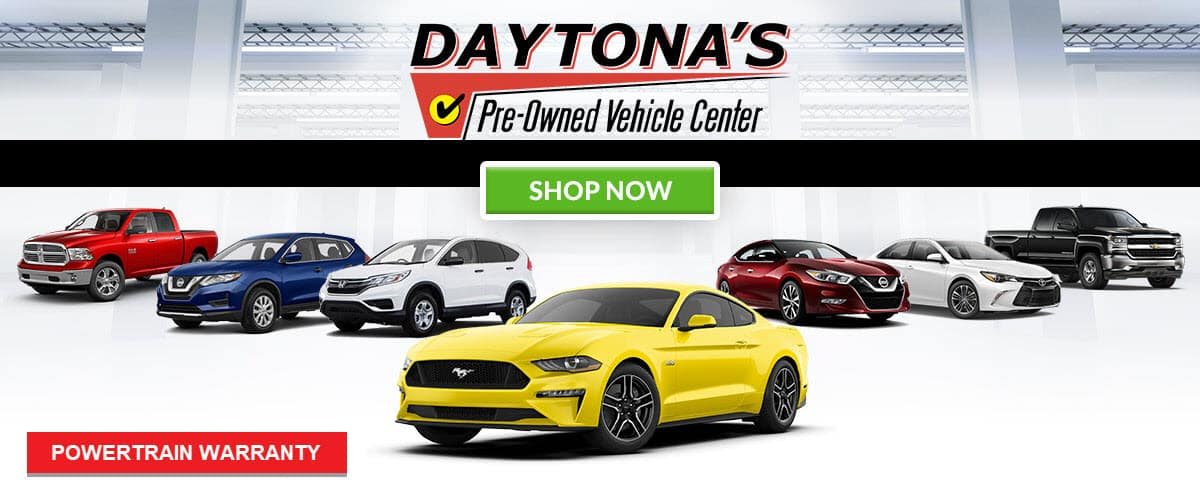 Daytona Pre-Owned Vehicle Center header
