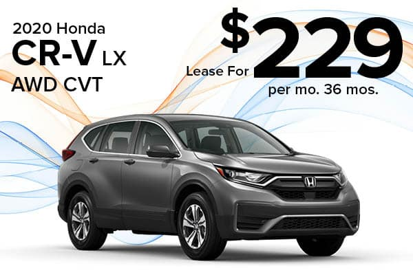 New 2020 Honda CR-V LX AWD CVT