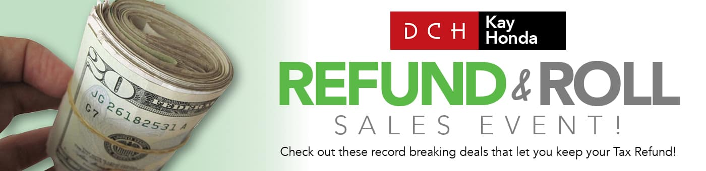 Refund & Roll Sales Event!