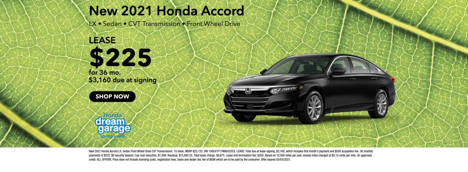 New 2021 Honda Accord