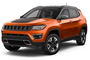 Spitfire Orange 2018 Jeep Compass