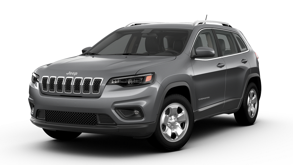Charcoal colored 2019 Jeep Cherokee
