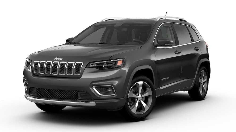 2019 Black Jeep Cherokee
