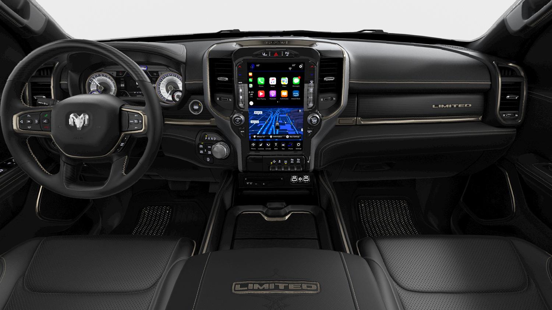 19 Ram 1500 interior