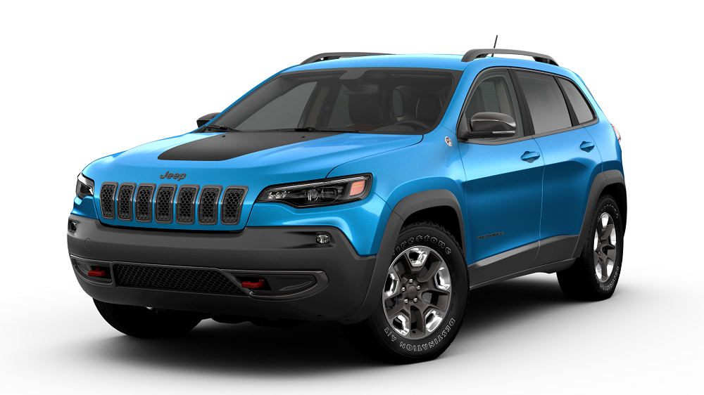 2019 Jeep Cherokee Blue