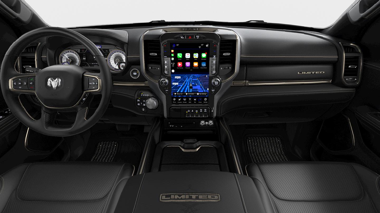 2019 RAM 1500 LIMITED CREW CAB interior