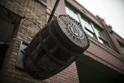Detroit City Distillery Barrel