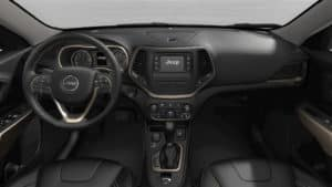 Jeep Cherokee Latitude True North Interior