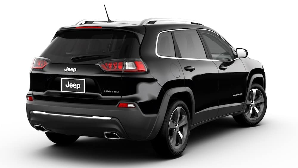 Jeep Cherokee Diamond Black Chrystal