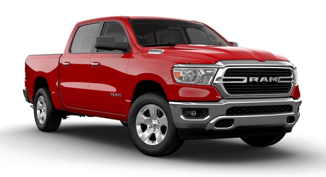 RAM 1500 Big Horn Crew Cab Flame Red