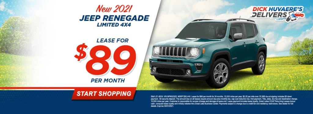 NEW 2021 JEEP RENEGADE LIMITED 4X4
