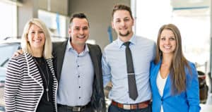 Nissan Commercial Dealer Staff