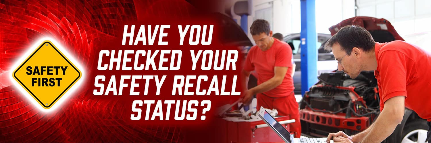 Have You Checked Your Recall Statuss