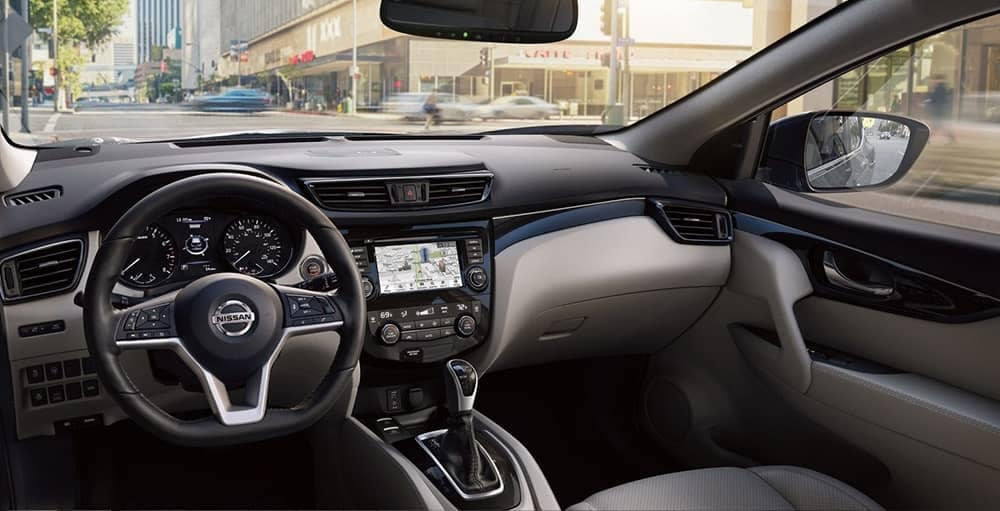 2019 Nissan Rogue Dash