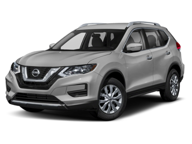 2019 Nissan Rogue silver