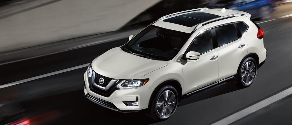 2020 Nissan Rogue white