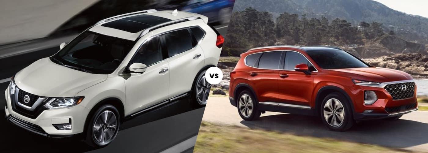 Rogue vs Santa Fe comparison