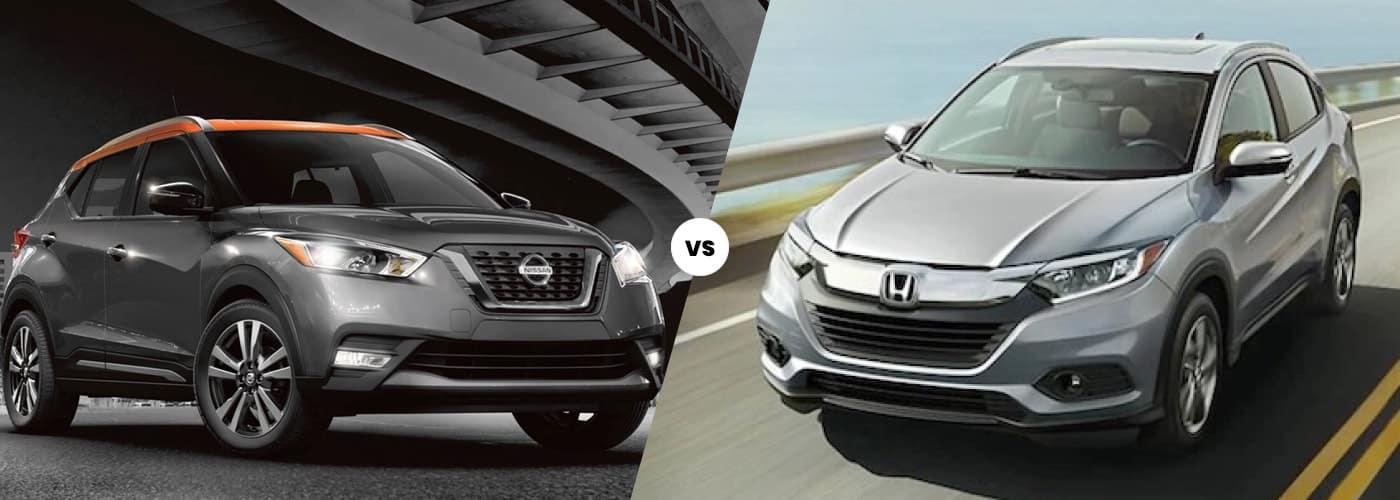Nissan Kicks vs. Honda HR-V