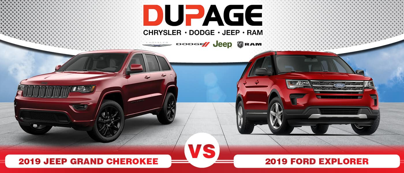 2019 Jeep Grand Cherokee vs. 2019 Ford Explorer