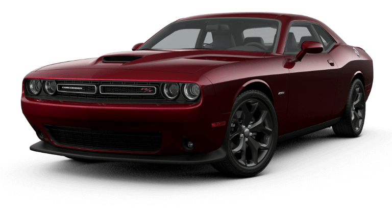 2019 red Dodge Challenger RT