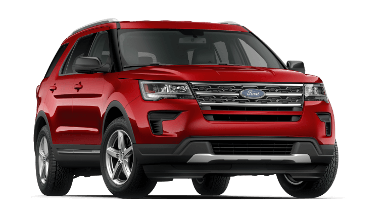 2019 Ford Explorer XLT - Ruby Red