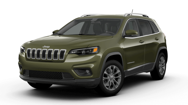 2019 Jeep Cherokee Latitude Plus - Olive Green