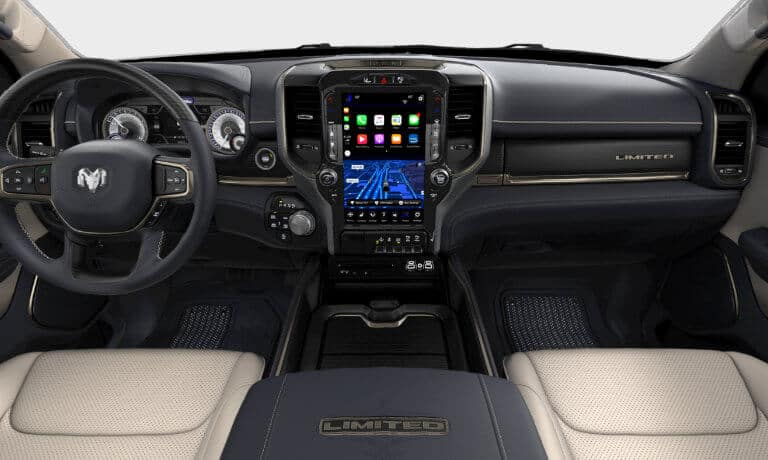 2019 Ram 1500 interior front view