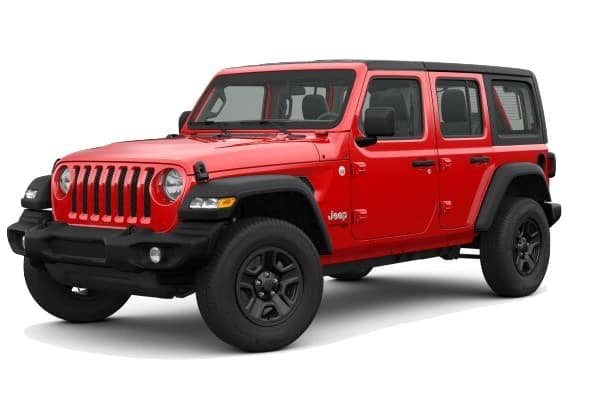 2020 Jeep Wrangler Lease Deal 231 Mo For 36 Months
