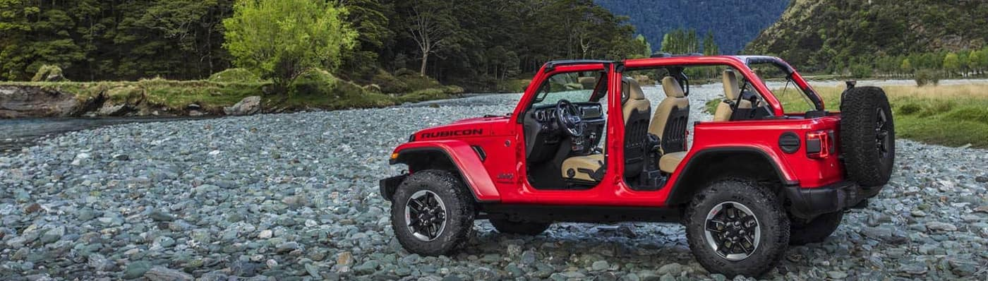 2019 Jeep Wrangler near mountains