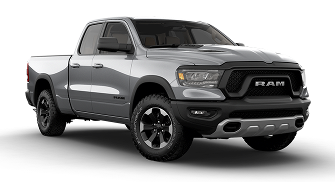 2019 Ram 1500 Rebel Trim