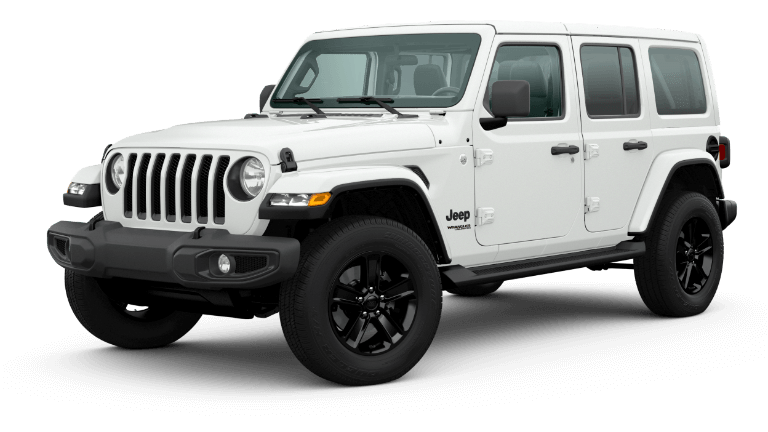 2020 Jeep Wrangler Sahara Altitude - Bright White