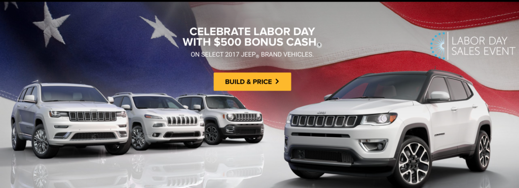 Dupage Jeep Labor Day Sale