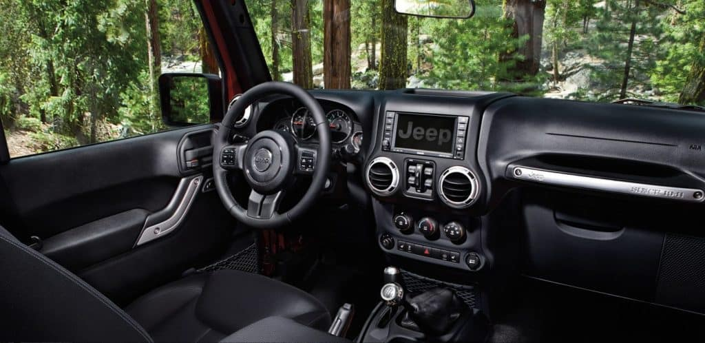 Captivating Interior U2013 2018 Jeep Wrangler By St Charles