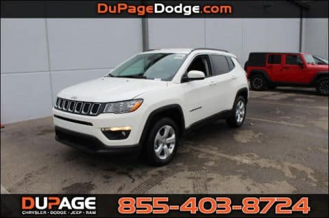 Lease a New 2018 Jeep Compass Latitude FWD!