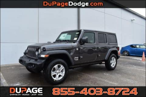 Lease a New 2018 Jeep Wrangler Unlimited Sport JK!