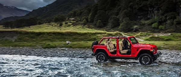 2018 Jeep Wrangler JL Rubicon Fording River Removable Doors