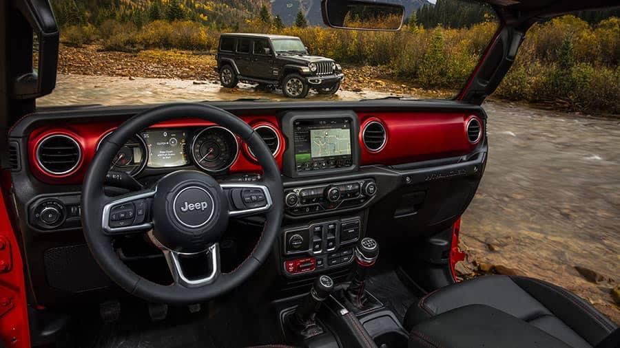 2018 Jeep Wrangler JL Rubicon Interior Red