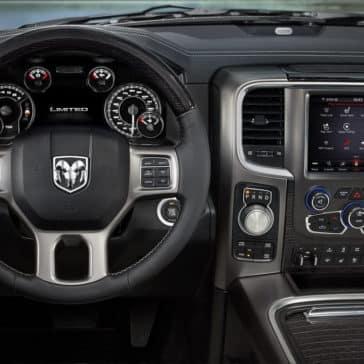 2018 Ram 1500 Front Interior Dash