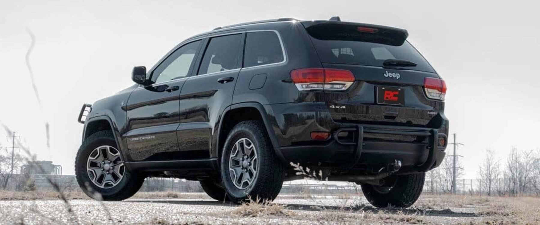 Lifted Jeep Grand Cherokee