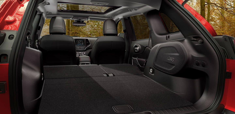 2019 Jeep Cherokee Folded Seats