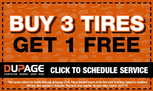 buy 3 tires get one free special