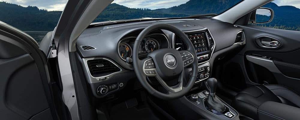 2019 Jeep Cherokee Interior Driver View