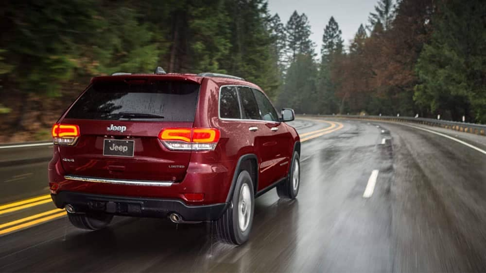 rear of 2019 Jeep Grand Cherokee