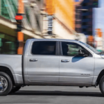 2019 RAM 1500 in Silver in the City