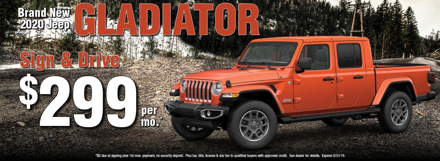 All New 2020 Jeep Gladiator